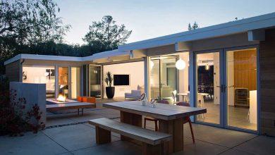Openness Idea For Eichler House Renovation Design